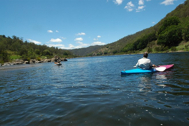 Clarence River paddling