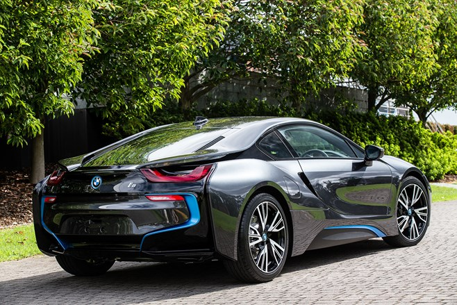 BMW i8 i3 production line