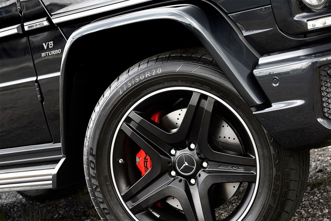 Mercedes Benz G63 AMG wheel