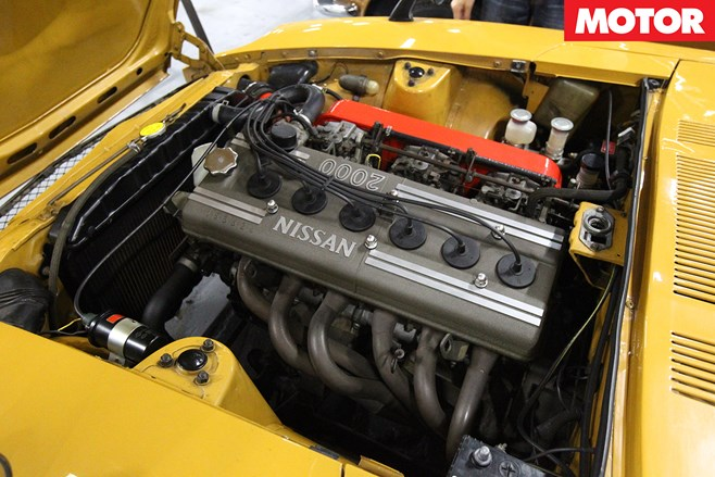 High-tech S20 inline-six: DOHC, triple carb, 4v per cylinder