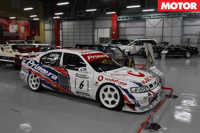 Primera Super Tourer dominated the 1999 British Touring Car Championship