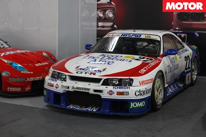 NISMO GT-R LM competed at 1995 Le Mans 24-hour, finished fifth in class