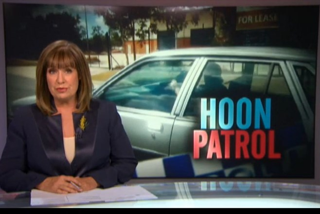 A Current Affair Hoon Patrol
