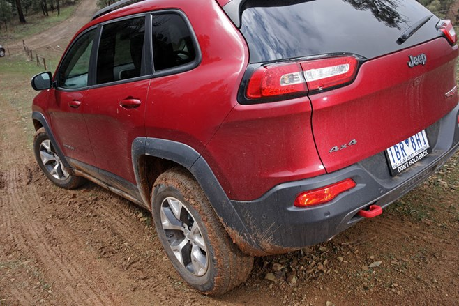 Jeep KL Cherokee Trailhawk back