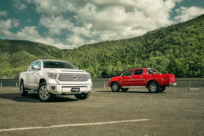 Toyota Tundra vs Toyota Hilux review