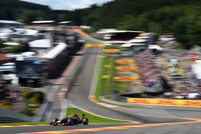 F1: Daniel Ricciardo wins at the Belgium Grand Prix