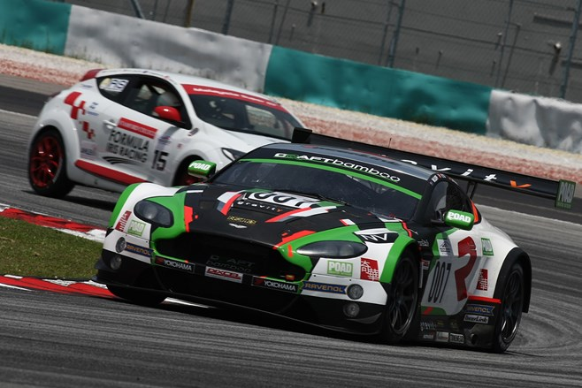 Warren Luff at Sepang 12 Hour