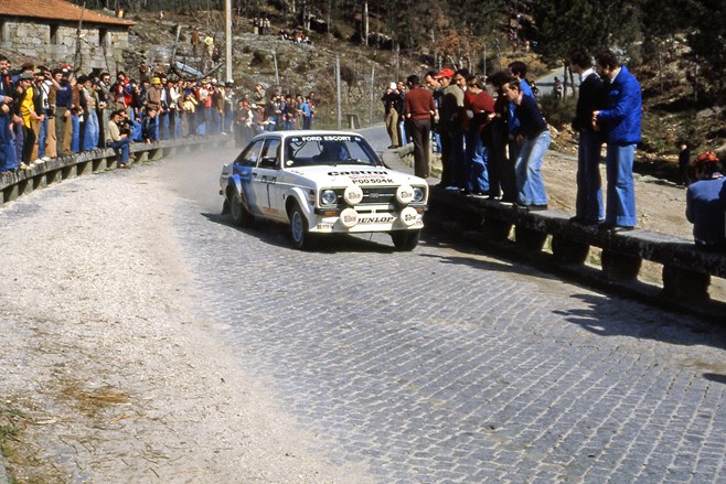 Bjorn Waldegard Rally Portugal 1979