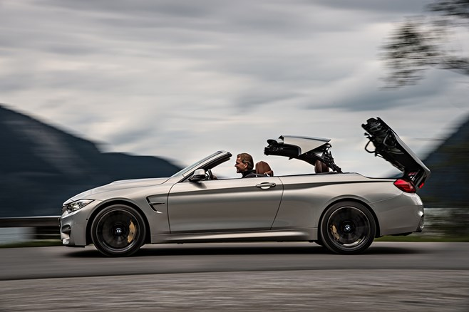 BMW M4 M3 convertible cabriolet first drive test review