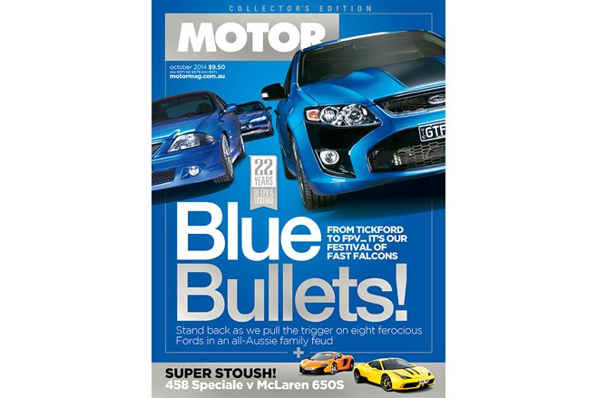 October MOTOR now on sale