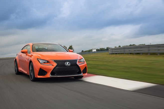 Lexus RC F first drive review test