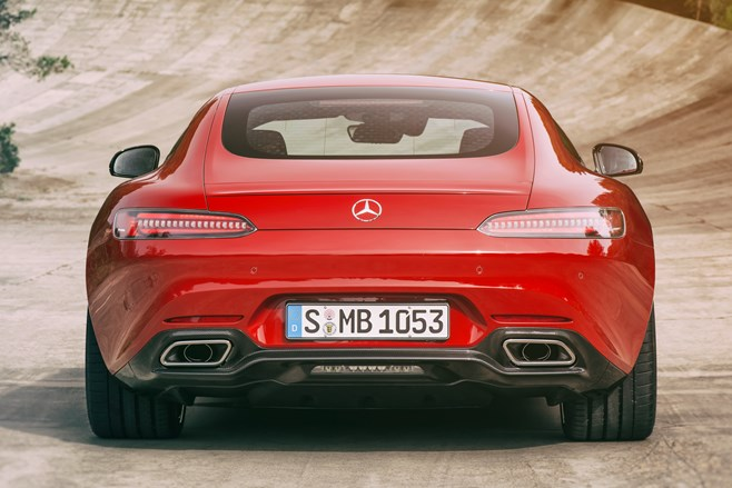 2015 Mercedes AMG GT photos official