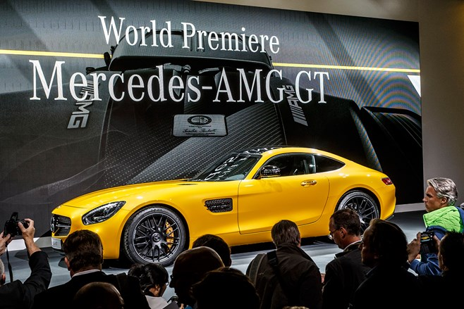 Mercedes AMG GT technical specs information