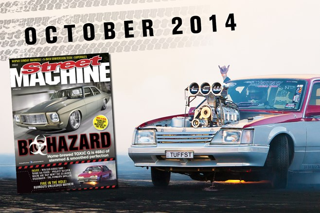 Street Machine October 2014