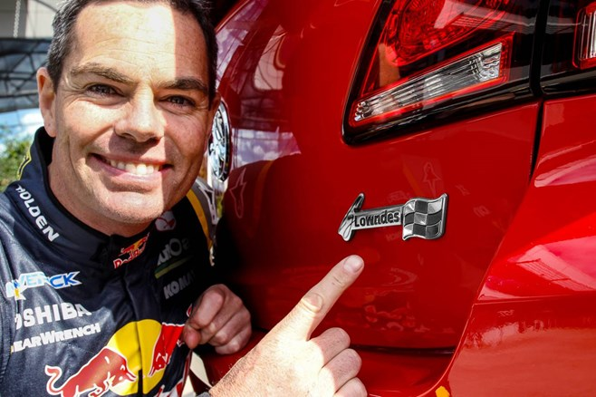 Craig Lowndes Special Edition Commdore