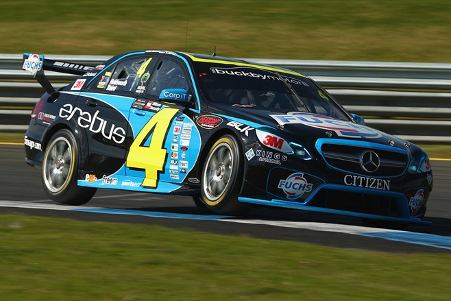 Erebus E63 AMG at Sandown