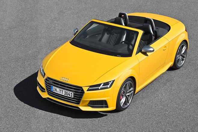 Audi TT Roadster photos