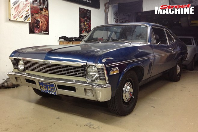 Rides by Kam Chevrolet Nova in the build