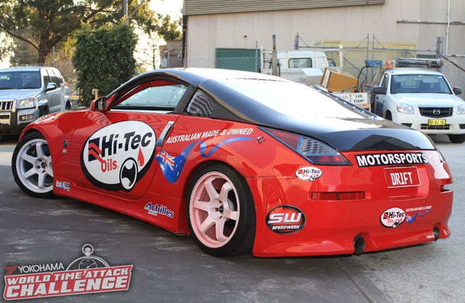 Hi-Tec Nissan 350Z twin turbo V8
