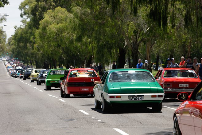 Summernats cruise