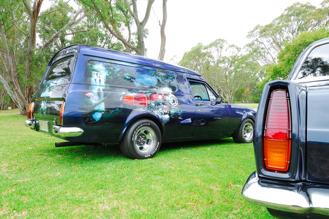 Midnight Express Holden HT panel van
