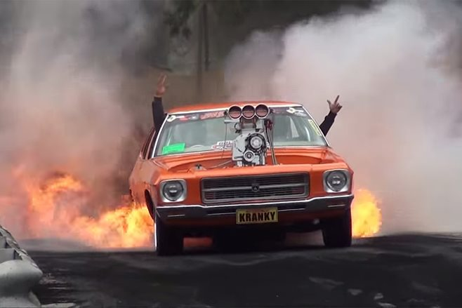 The Biggest Burnout Fires Of All Time Street Machine