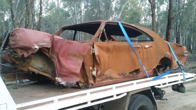 Holden HK Monaro rust for sale