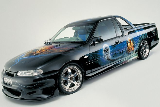 AWARD-WINNING PSYCO HOLDEN VS UTE FOR SALE