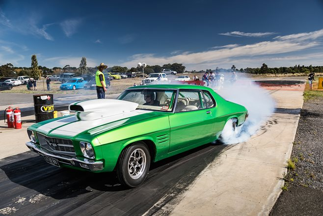 Coverage of the last-ever meeting of the Ballarat Drags
