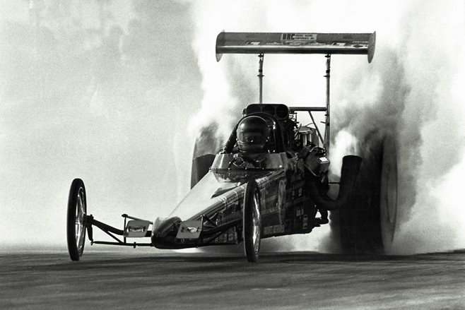 We chat with Top Fuel star of the 70s, Ross Mellish