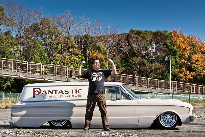 Pan Sumi and his 1961 Falcon
