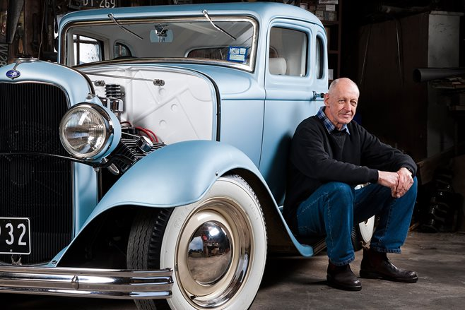Hot-rodding pioneer Peter Swift