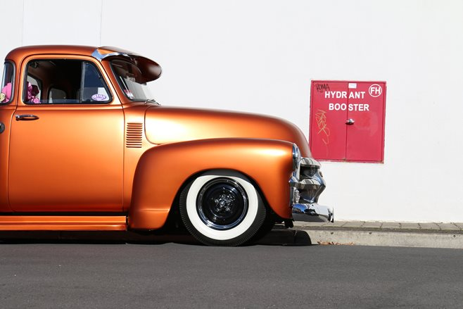 Danny Gigs's delightful Chev pick-up