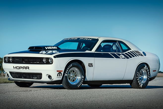 Awesome ready-to-race Dodge Challenger drag car revealed