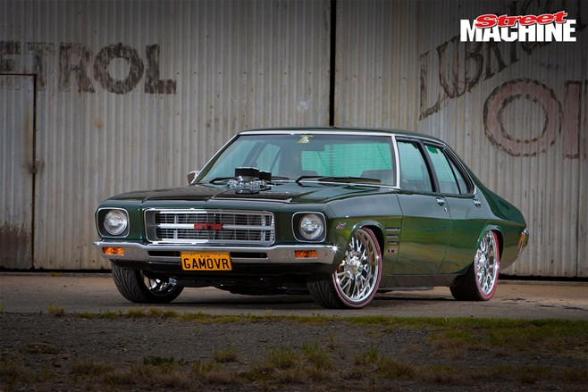 Mick Sammut's 680hp HQ GTS Monaro is built to rumble in the urban jungle