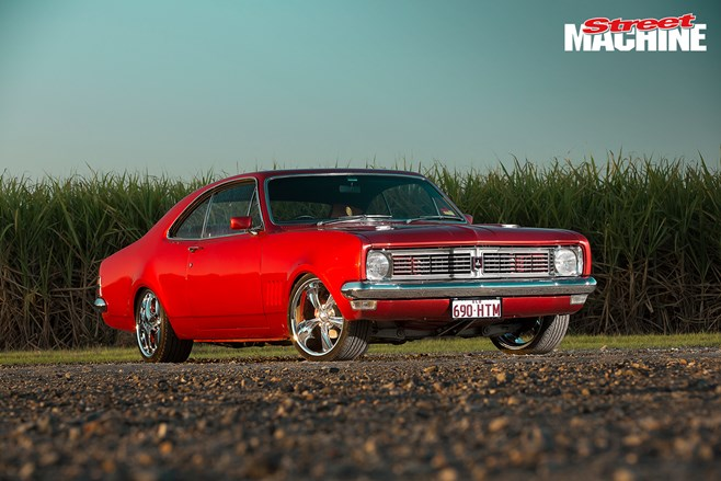 Trophy-winning street-elite Holden HT Monaro