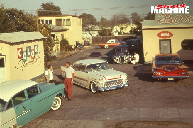 George Barris and brother Sam were kings of the 1950s American custom scene