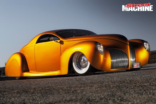 Andrew Mitchell's LS-powered 1939 Lincoln Zephyr custom