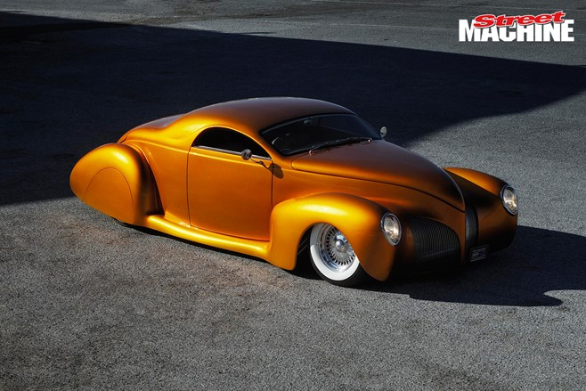 Andrew Mitchell's LS-powered Lincoln Zephyr