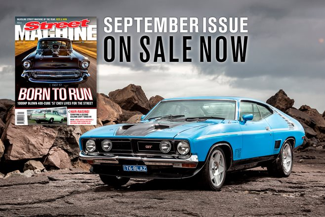 September Street Machine on sale now