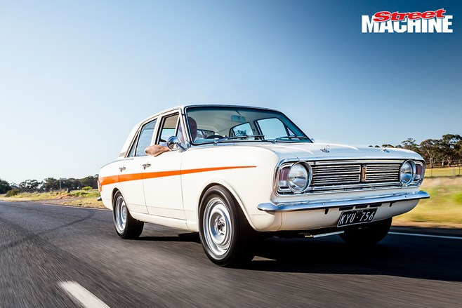 Paul Rockes's 500hp Ford V8-powered Cortina is a car with hidden talents