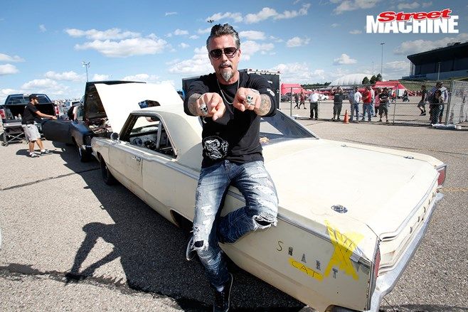 Dodge, Roadkill And Gas Monkey have a horsepower party