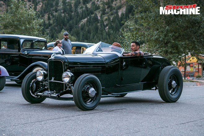 Hot rod hill climb
