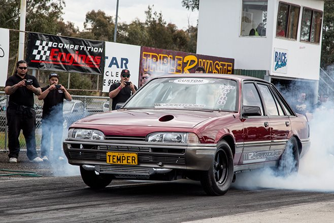 King of the Streets Heathcote Raceway TEMPER