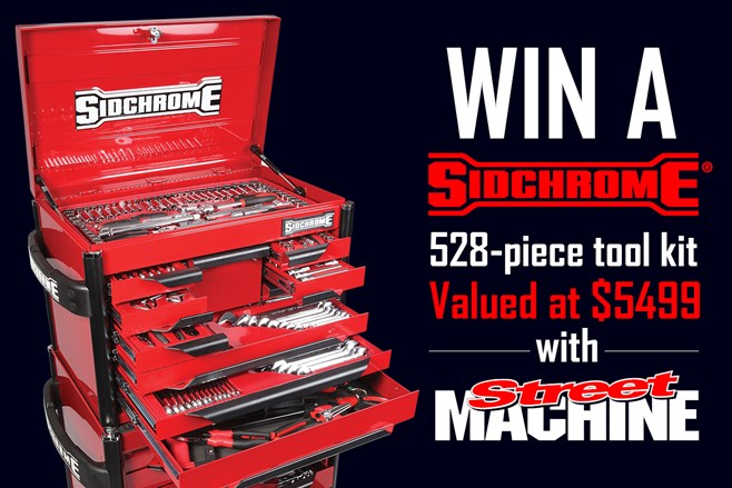 Win a Sidchrome tool kit