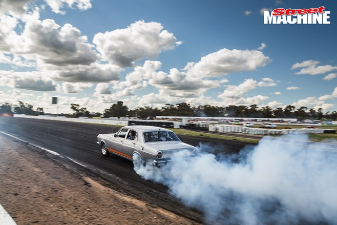 Ford Falcon powerskid