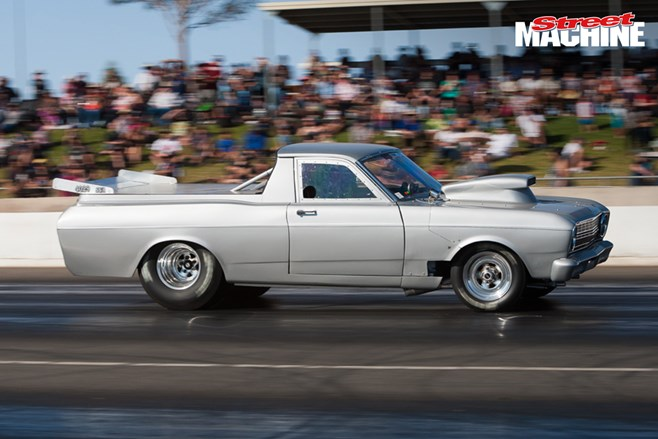 Holden EH ute drag car