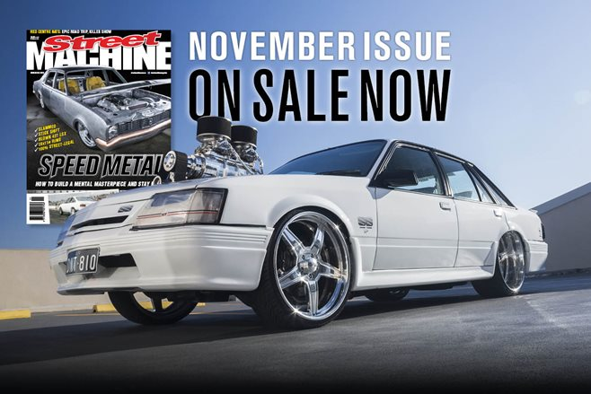 November 2015 Street Machine on sale now