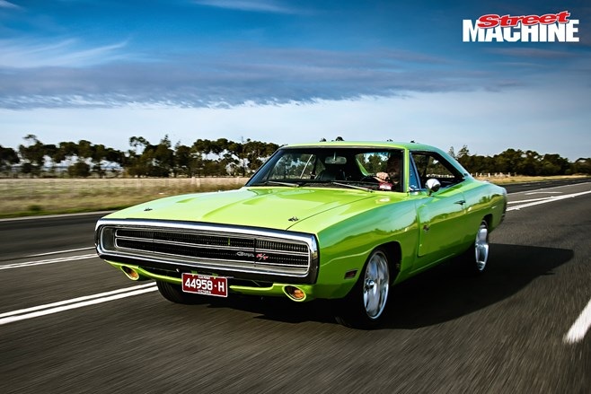 Dodge Charger NSW Street Machine rego