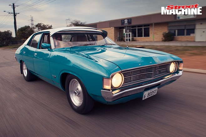 Ford XA Falcon turbo six